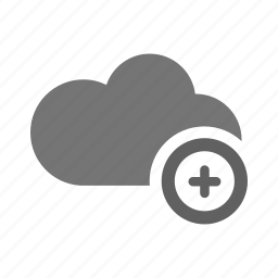 add, cloud, cloud computing, guardar, plus, safe, save, saving icon