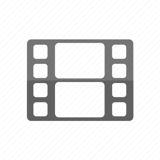 camera, gallery, guardar, movie, negative, save, video, videos icon