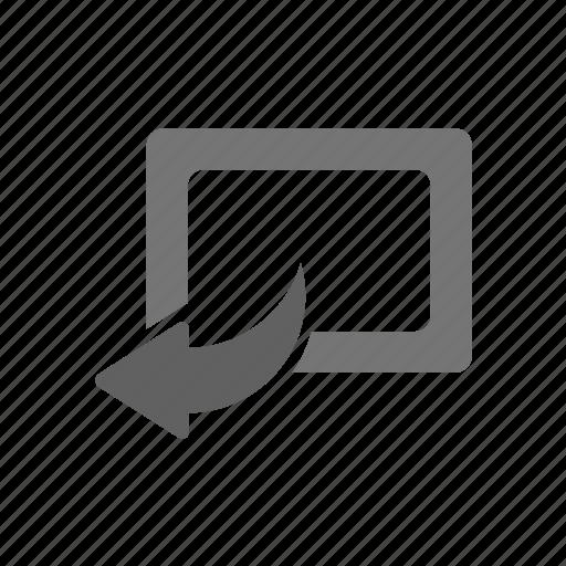 angle, back, control, previous, rotate, rotation, settings icon