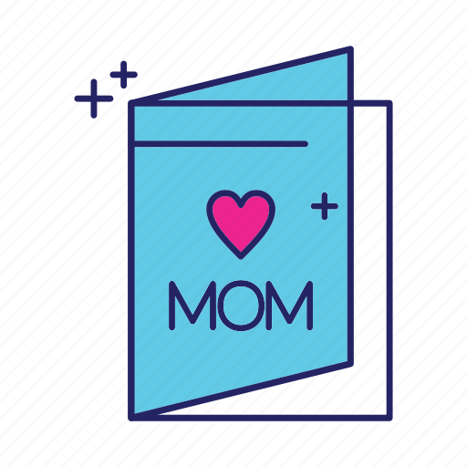 card, day, happy, mothers icon