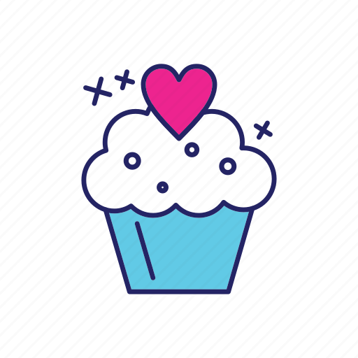 cake, cup, day, happy, mothers icon