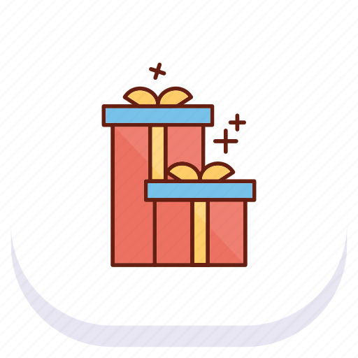 box, day, gift, happy, mothers icon