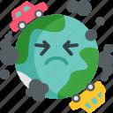 stink, environment, harmful, broken, unhealthy, sick icon