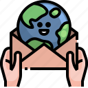 email, earth, globe, worldwide, communications, letter