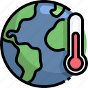 global, warming, ecology, environment, thermometer, earth
