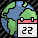mother, earth, day, calendar, ecology, environment, schedule