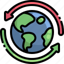 recycle, worldwide, ecology, environment, world, grid