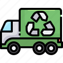 recycling, truck, garbage, ecology, environment, trash