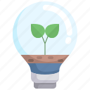 lightbulb, eco, light, ecology, environment, leaf