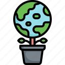 green, planet, ecology, environment, sprout, world, earth