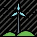 wind, energy, environment, green, turbine, windmill, mill
