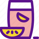drink, lady, limonade icon