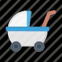 pram, carriage, buggy, baby, stroller
