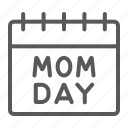 calendar, date, day, holiday, mom, reminder