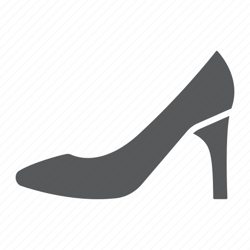 Female, footwear, heel, high, shoes, women icon - Download on Iconfinder
