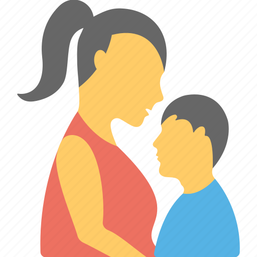 child, mother, mother care, relation, son icon