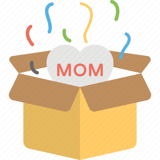 love package, lovely gift, mom balloon, mother gift, special gift icon