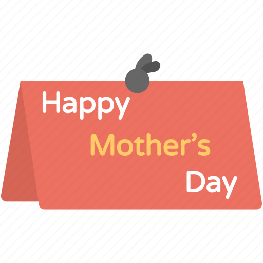 card, greetings, letter, mother day, wishes icon