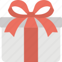 gift, package, present, surprise gift, wrapped gift icon