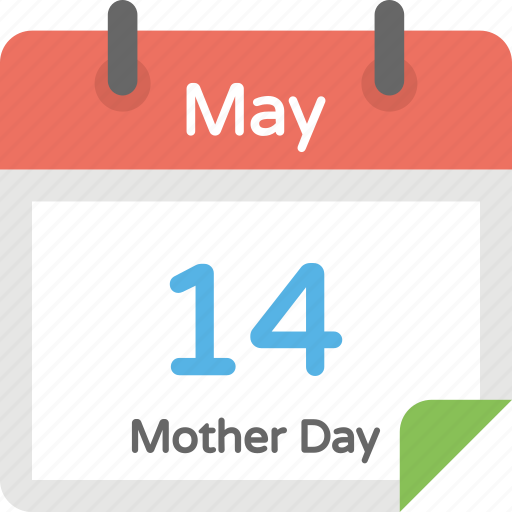 celebration, event calendar, mother day, mother honoring, regard day icon