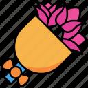 flower, bouquet, rose, floral