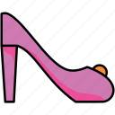 high heel, shoe, footwear, woman