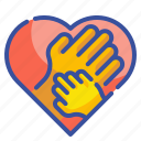 gestures, hand, hands, heart, hold, love, romantic icon