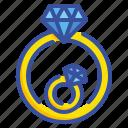 diamond, jewelry, love, luxury, ring, rings, wedding icon
