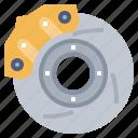 automobile, brake, car, disc, repair, transportation icon