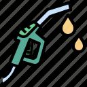 fuel, gas, gasoline, green, industry, power, pump icon