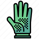fashion, glove, hand, race, security icon