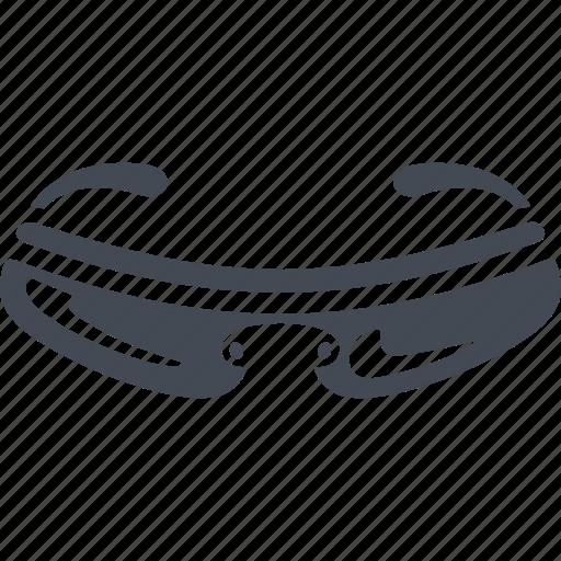 mountain bike, mountainbike, spectacles, sports glasses icon