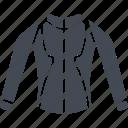 mountain bike, jacket, clothes, sport jacket, sports icon