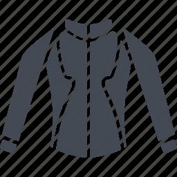 clothes, jacket, mountain bike, sport jacket, sports icon