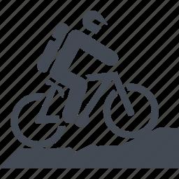 bike, let, mountain bike, transport, travel icon