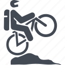 bike, mountain bike, transport, travel icon