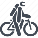mountain bike, transport, travel, vehicle icon