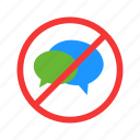 keep quite, no sound, no talking, quite, silence icon