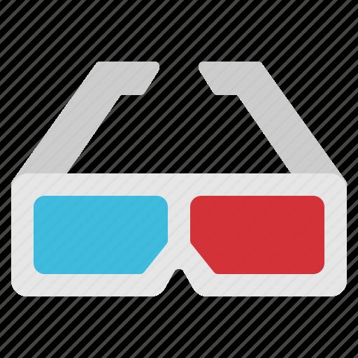 cinema, eyeglasses, glasses, movie, watch icon