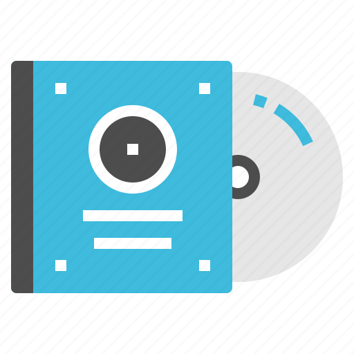 cd, cover, entertainment, movie, video icon