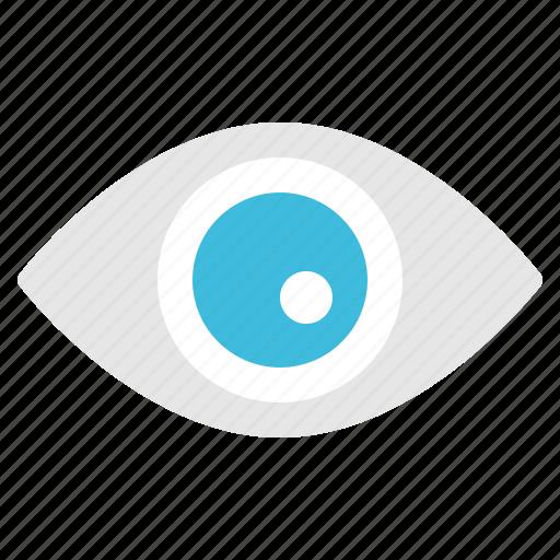 eyes, look, organ, see, watch icon
