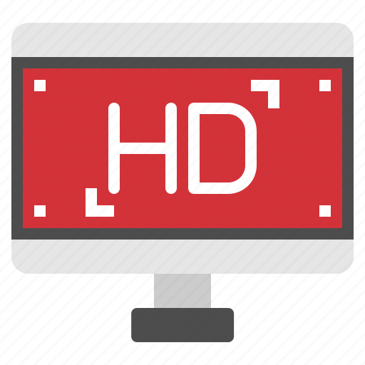 definition, full, hd, movie, video icon