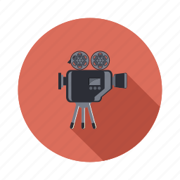camera, film, movie, multimedia, record, video icon