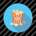 popcorn, corn, food, meal