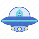 alien, spaceship, ufo icon