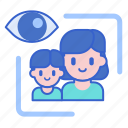 child, guide, parent icon