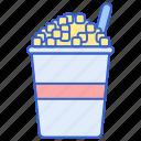 cinema, corn, cup, movie