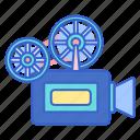 camera, film, movie, projector icon