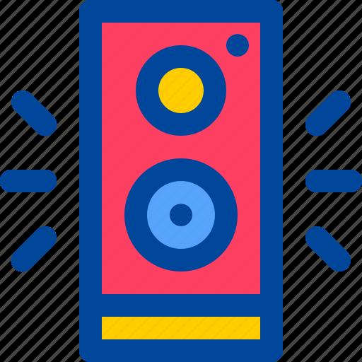 loud, sound, speaker, stereo, volume icon