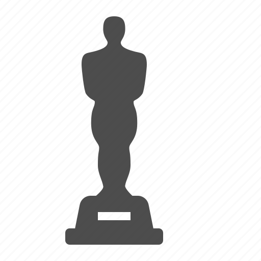 award, movie, oscar, prize, statue icon